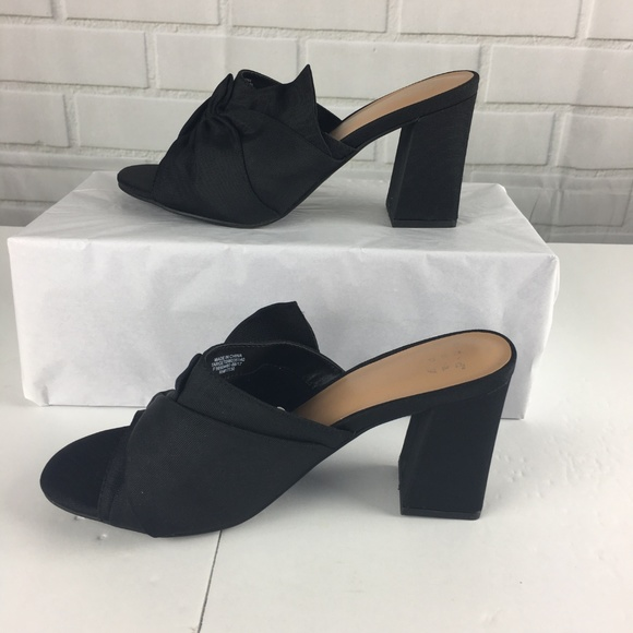 2f42a450e6a5 a new day Shoes - Womens 6.5 Knotted Bow Heeled Mule Pumps